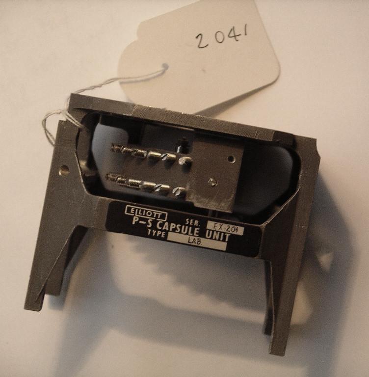 Air Data System, Pitot-Static Capsule Sensor, Cam-Corrector Mechanism