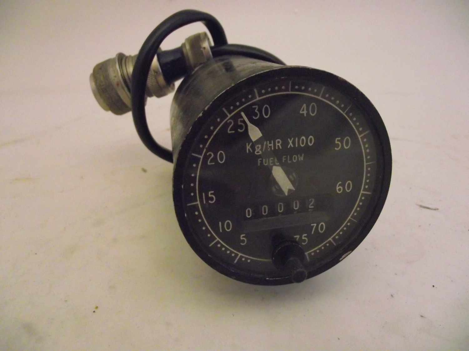 Fuel Consumed and Flow Rate Meter