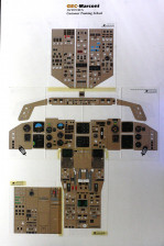 Boeing 767-300 Cockpit Instrument Panels