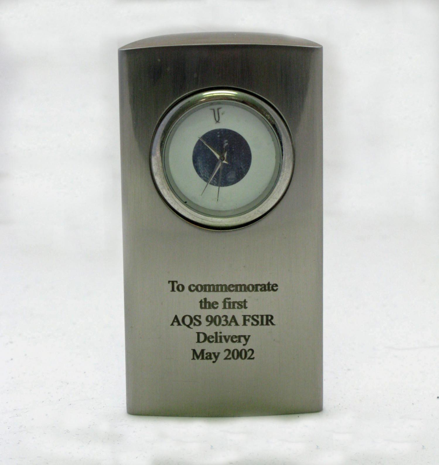 AQS 903A Delivery Award