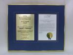 Award to David J. Hubbard