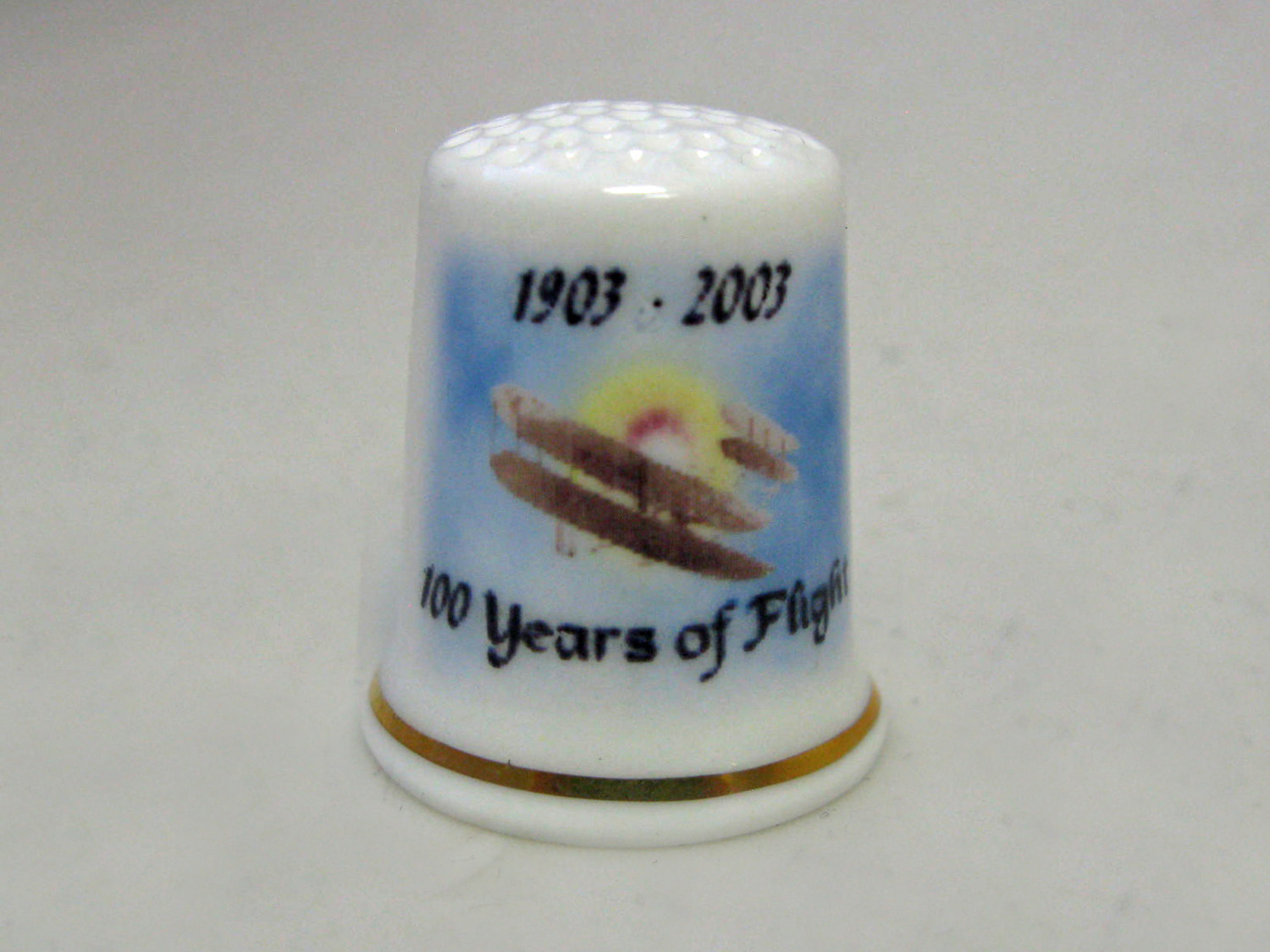Bone China Thimble