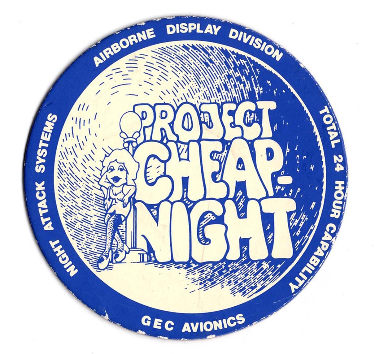 Cheap Night Beer Mat