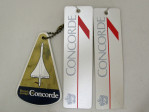 Concorde Luggage Labels