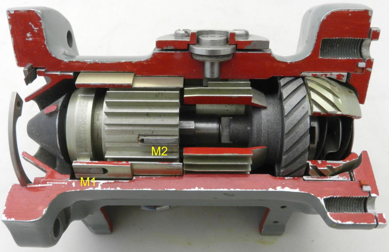 Fuel Flow Transmitter Cut-Away Demonstrator
