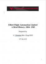 Elliott Flight Automation Limited, A Brief History, 1804-1985