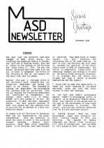 MASD Newsletter - 1990/12