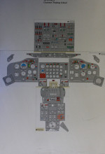 Boeing 747 Cockpit Instrument layout.