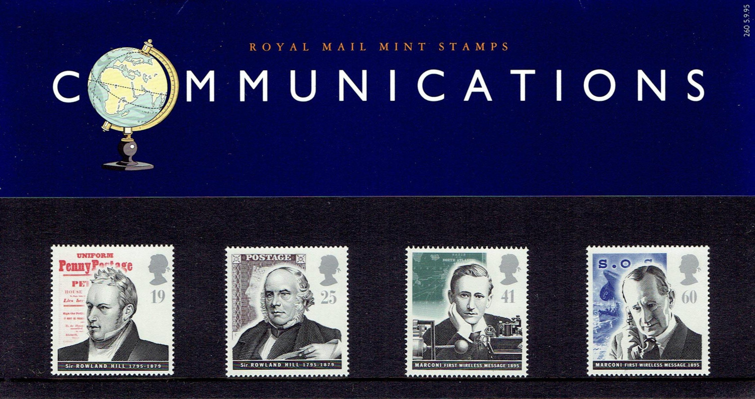 Marconi Stamps (mint)