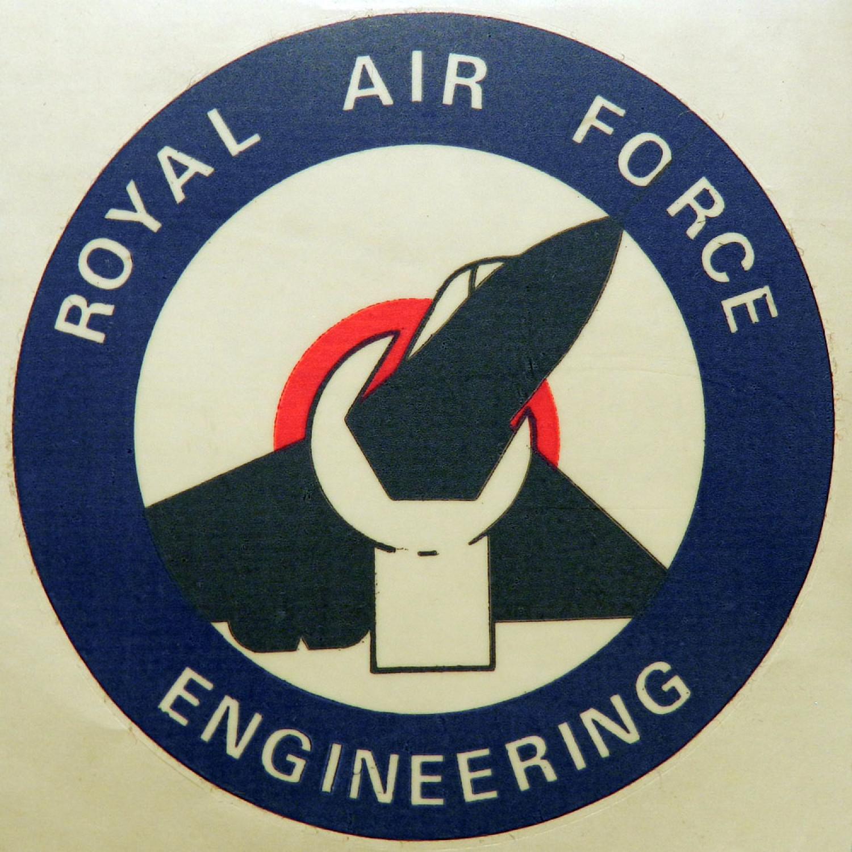 RAF Engineering Window Sticker