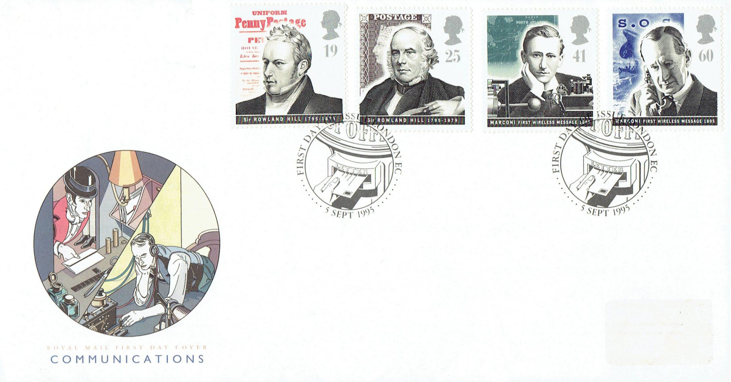 Marconi Stamps (first-day cover)