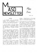 MASD Newsletter - 1992/04