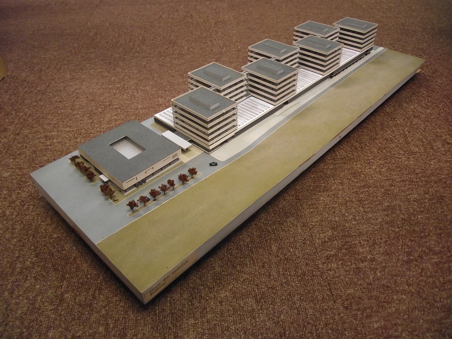 Model of the proposed seven tower facility at Rochester.