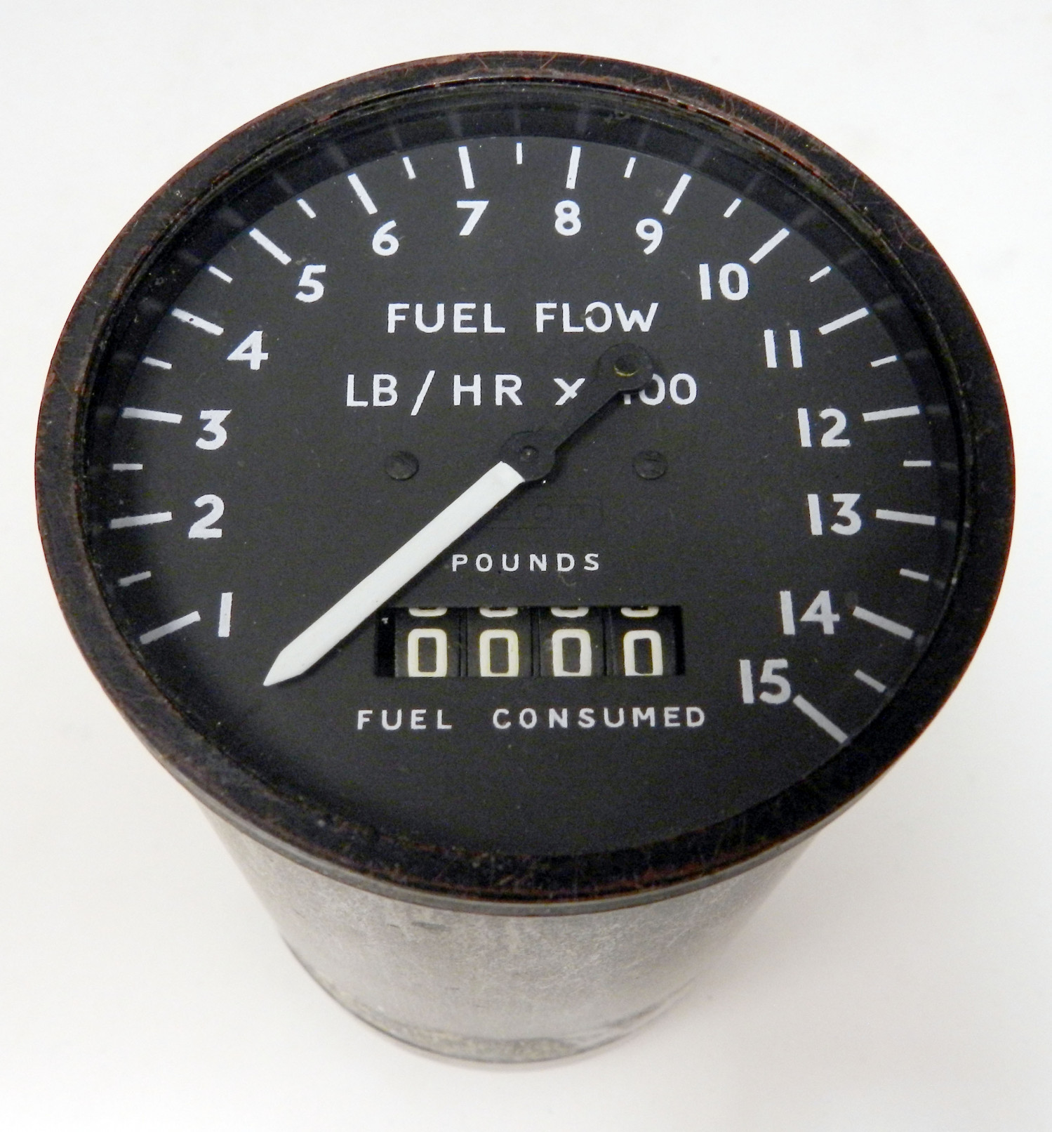 Viscount Fuel Consumed & Flow Rate Indicator
