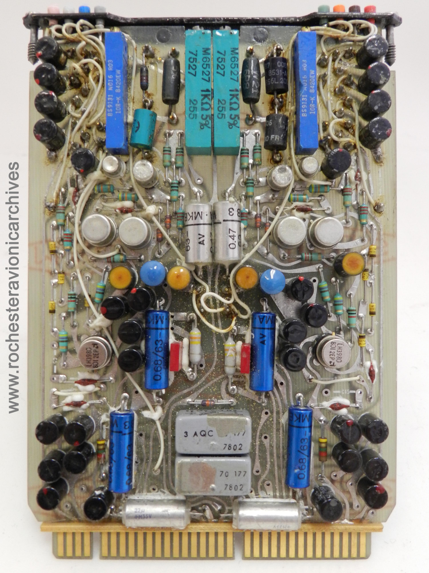 'X' and 'Y' Precession Amp Circuit Module