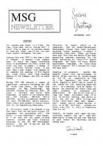 MSG Newsletter - 1993/12