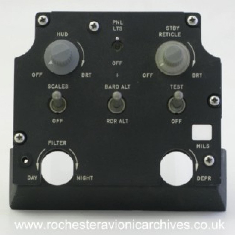 A-7 HUD Control Panel