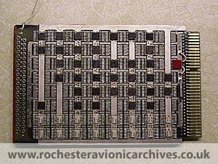 Adder Memory Circuit Board