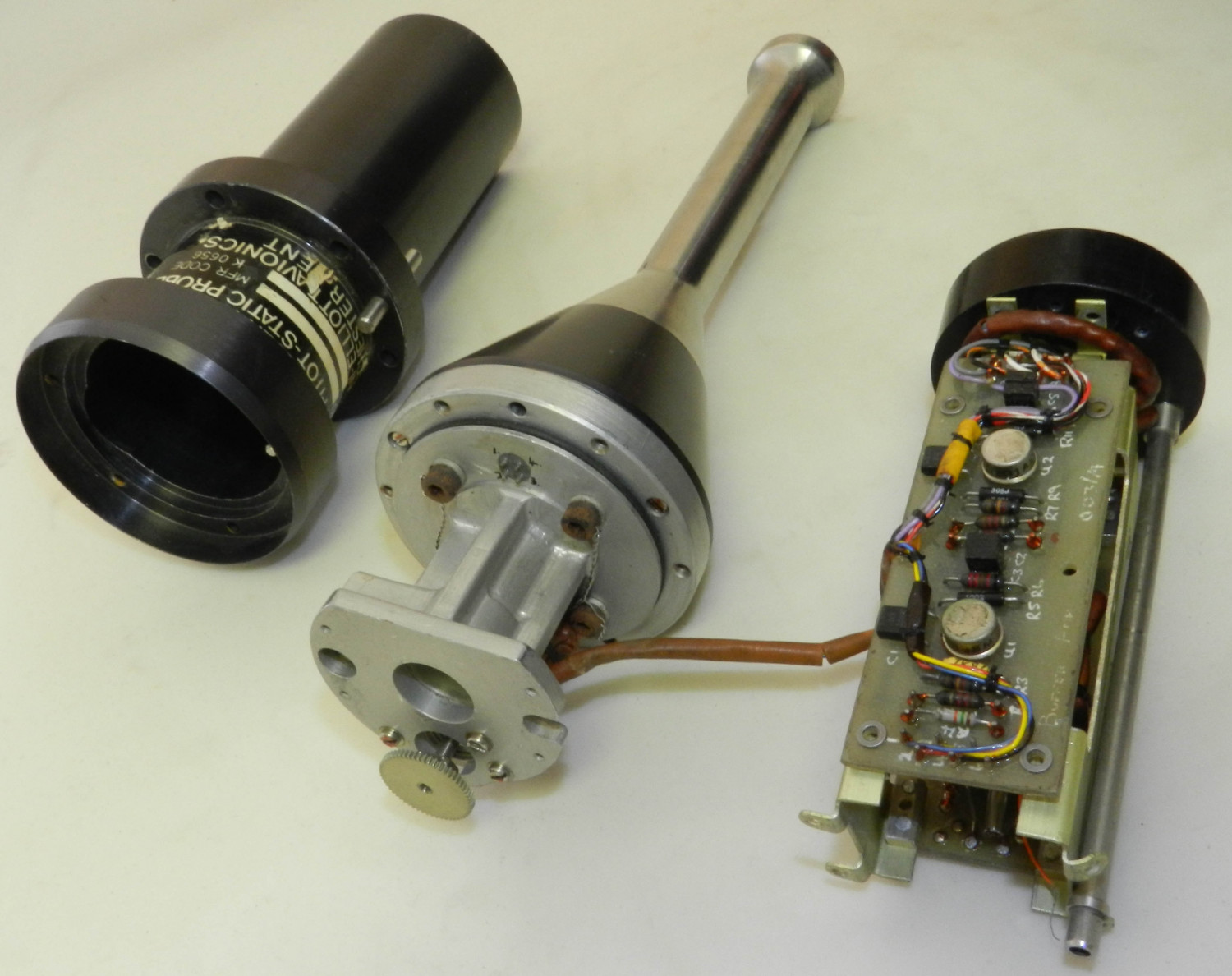 Multi-Axis Pitot-Static Probe Parts