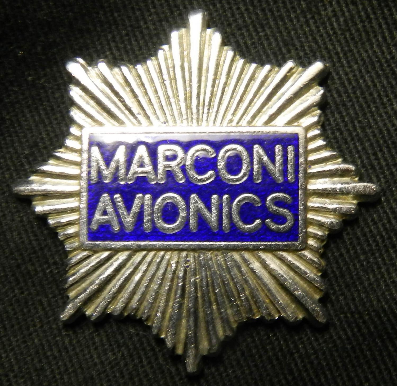 Marconi Avionics Badge