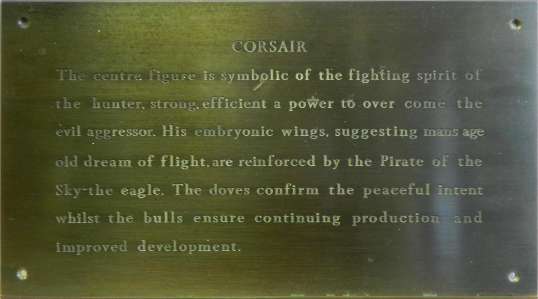 Plaque for Corsair Mosaic