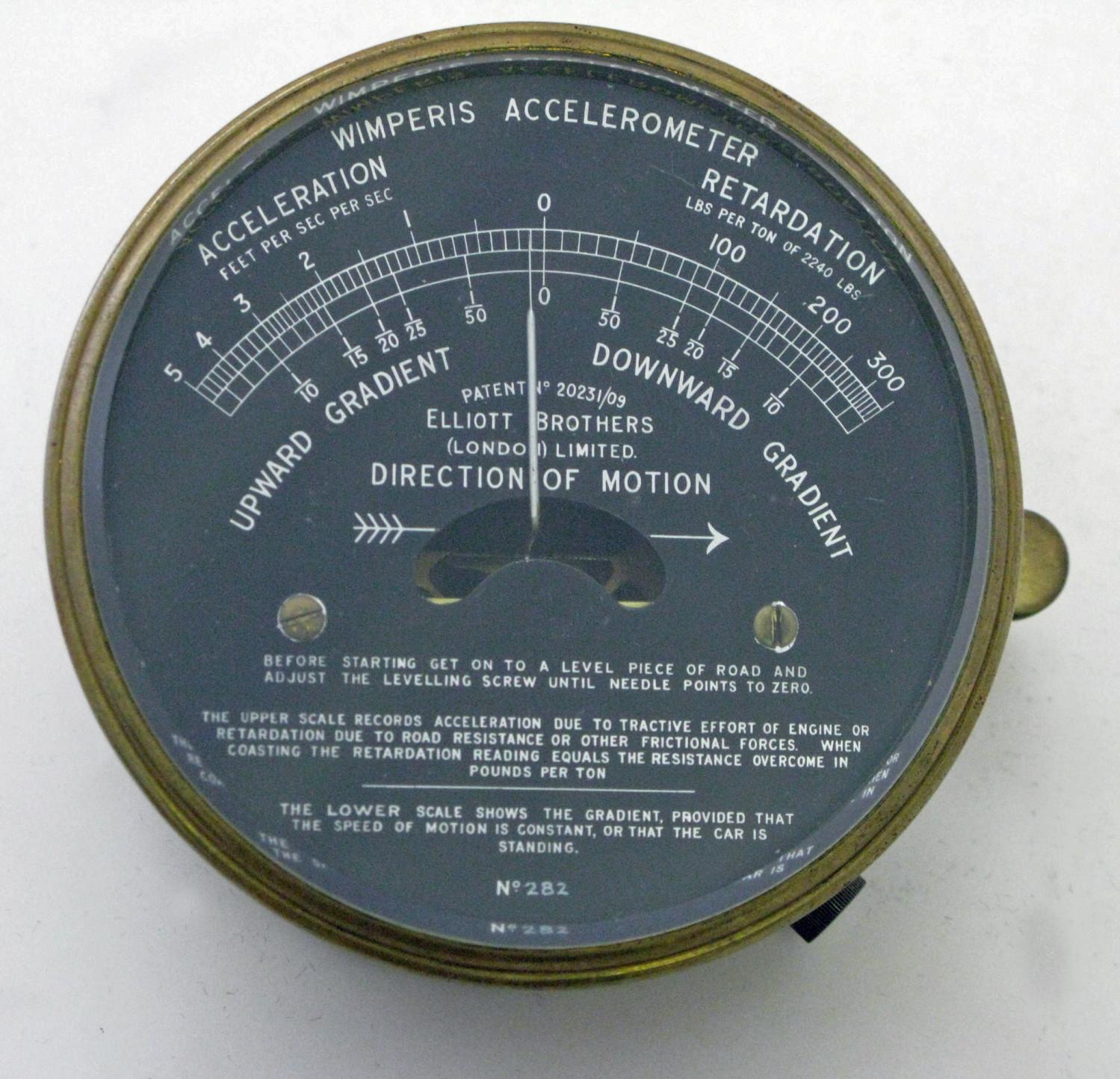 Wimperis Accelerometer.