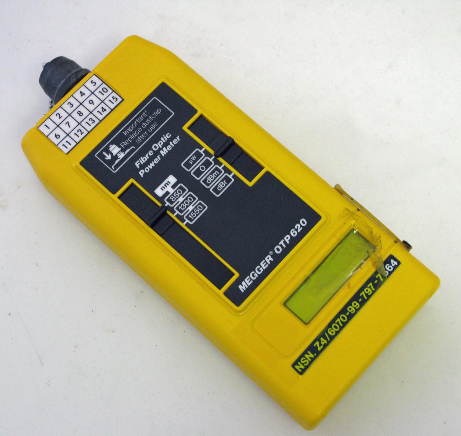 Fibre Optic Power Meter