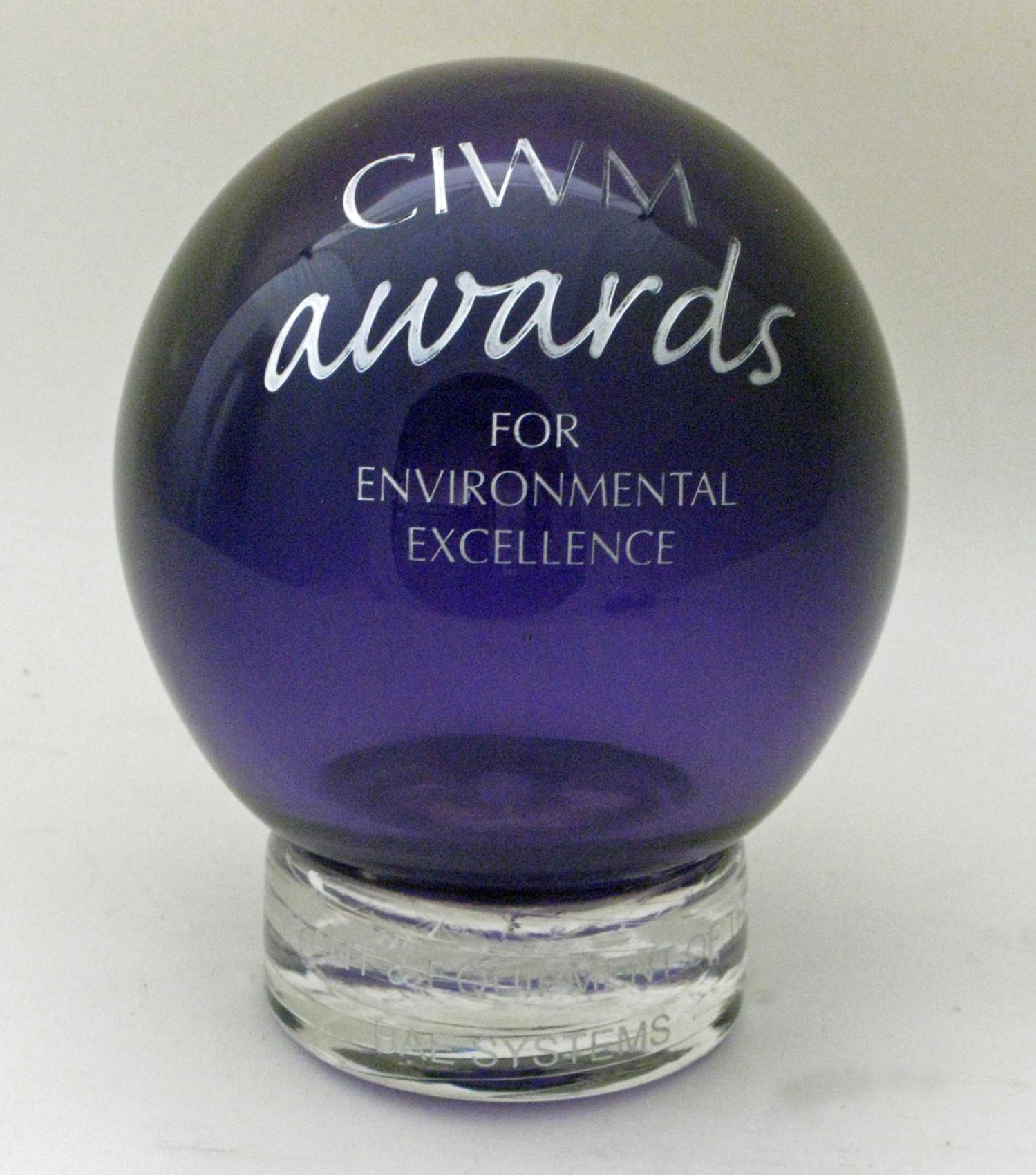 CIWM Award for Environmental Excellence, 2012