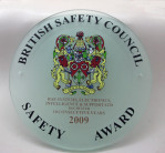 2009 Safety Award Plaque