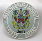 Safety Award   2001