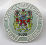 Safety Award  2003