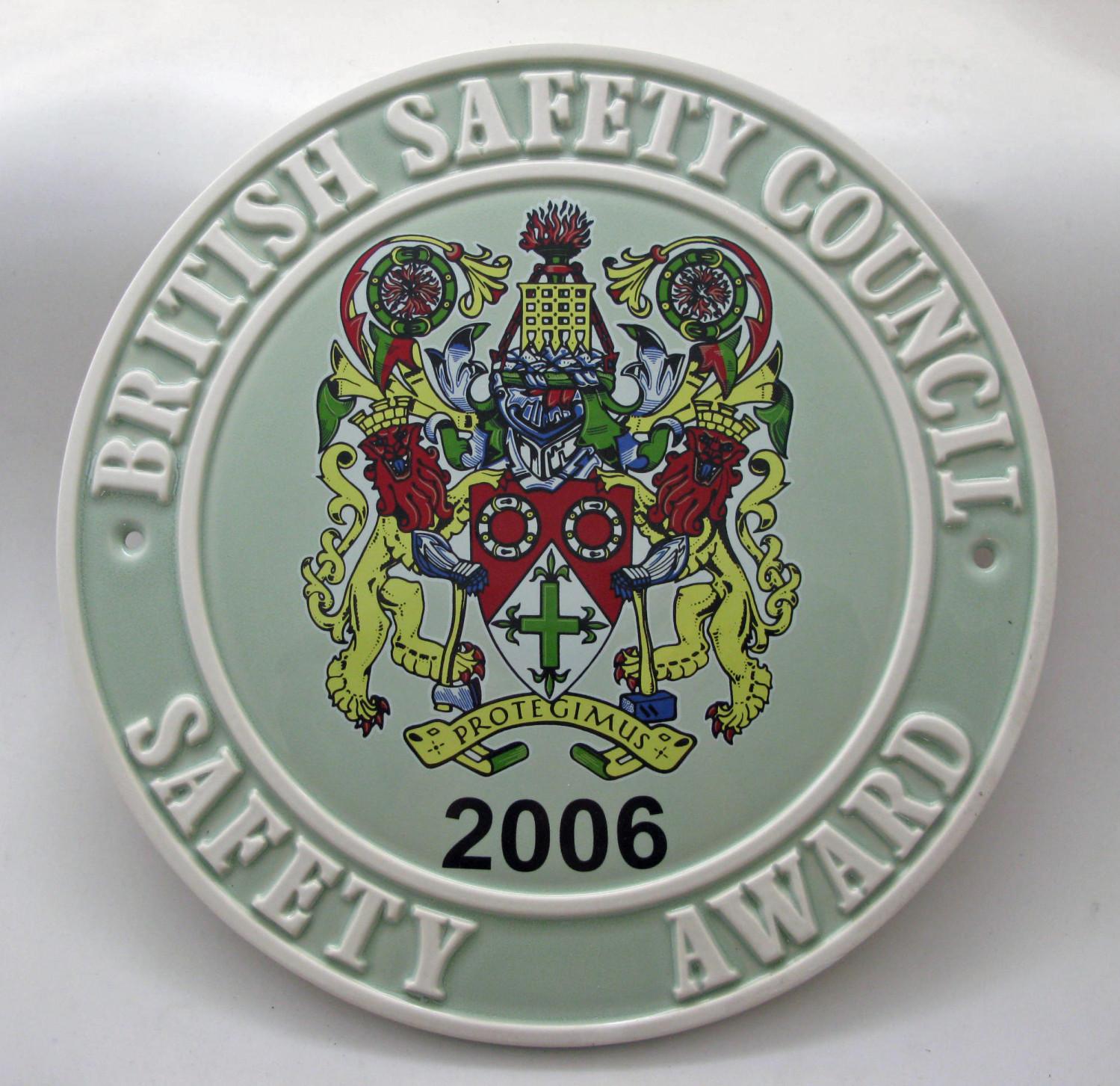 Safety Award  2006