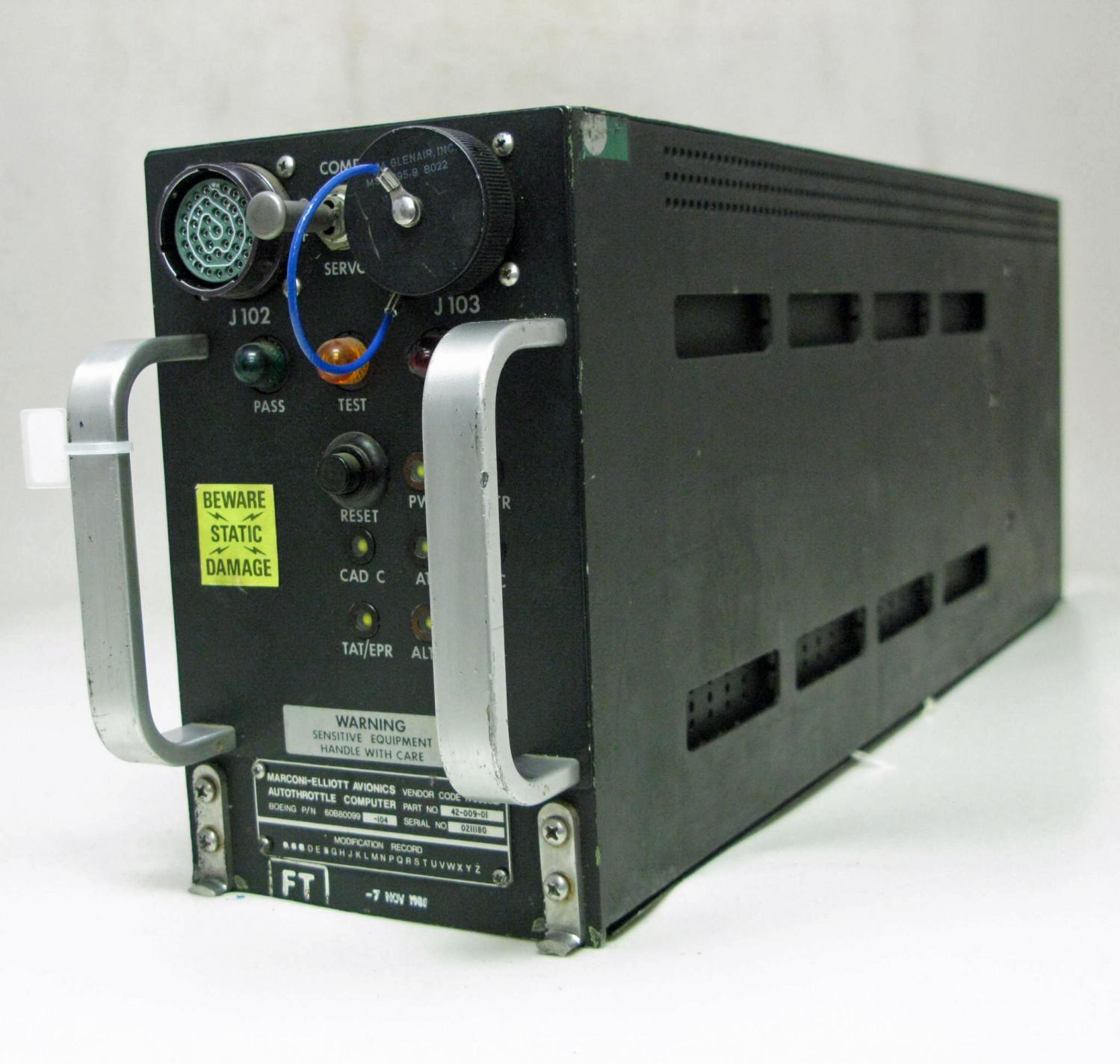 Autothrottle Computor