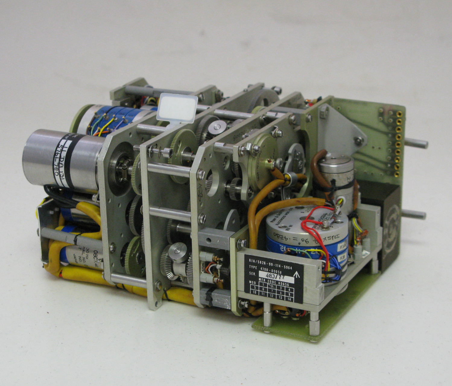 Gearbox Unit,  Computing and Output Module.