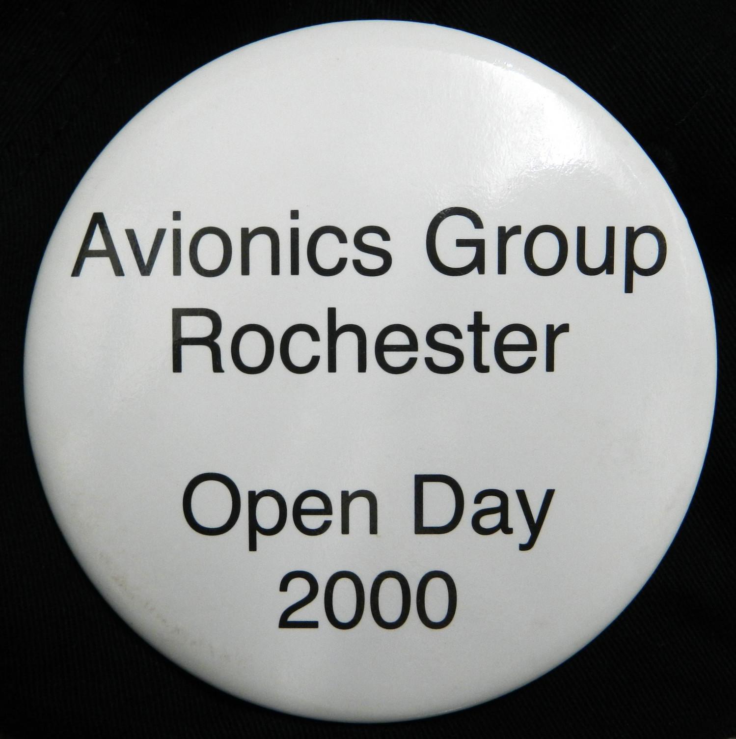 Avionics Group Rochester Badge
