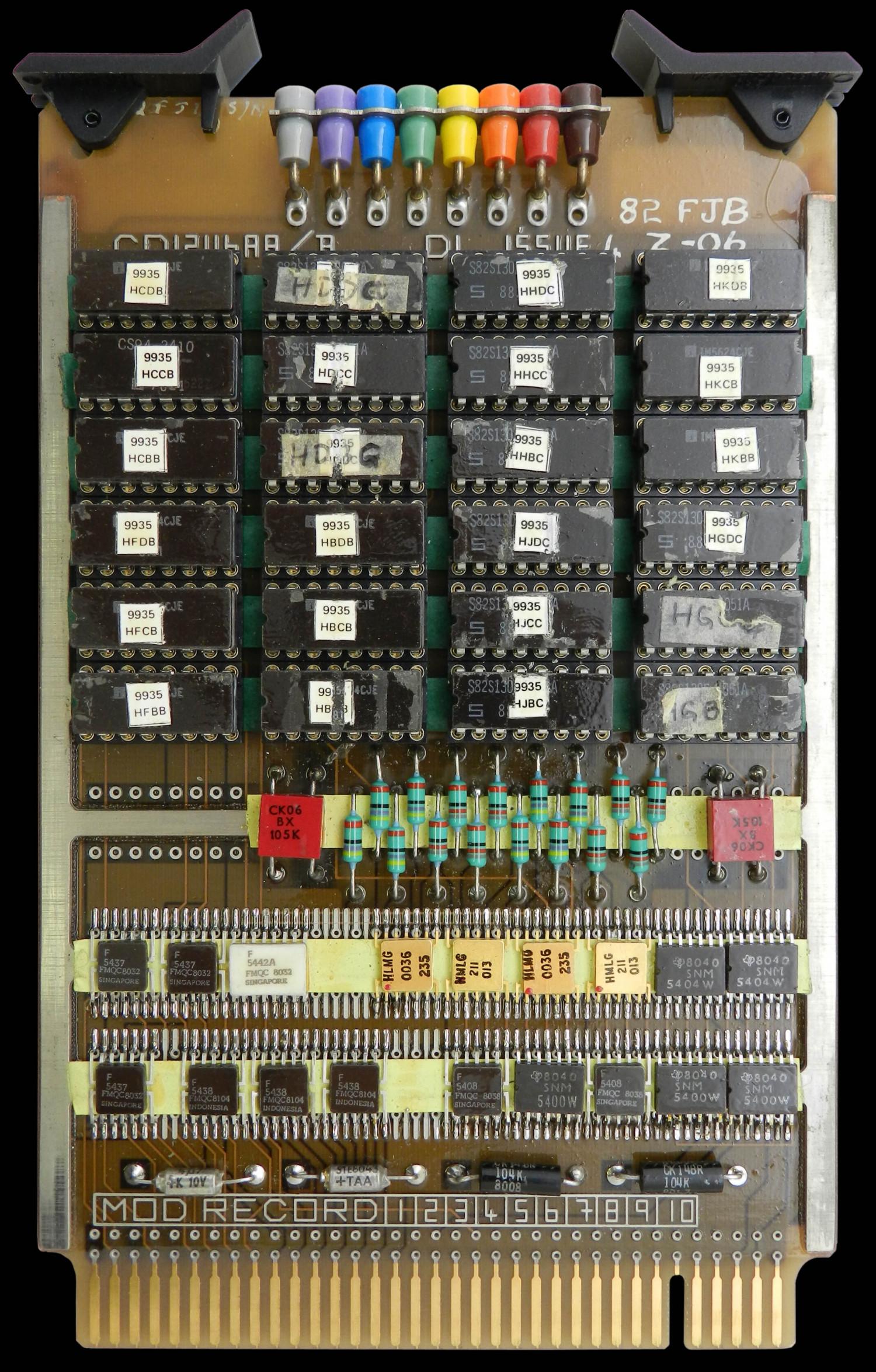 NCS1 Program Store 1 Circuit Board