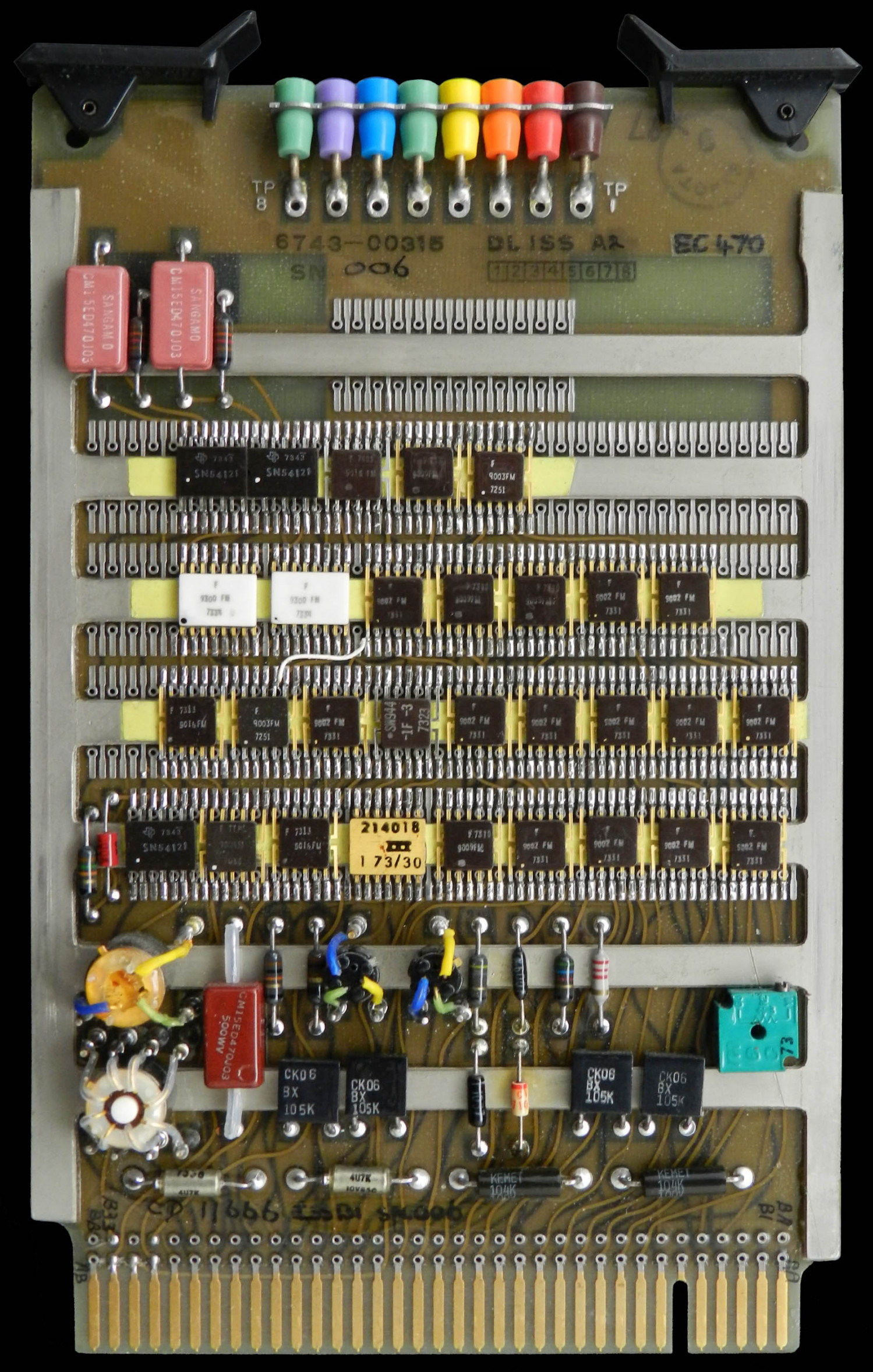 NCS1 Store Timing Circuit Board