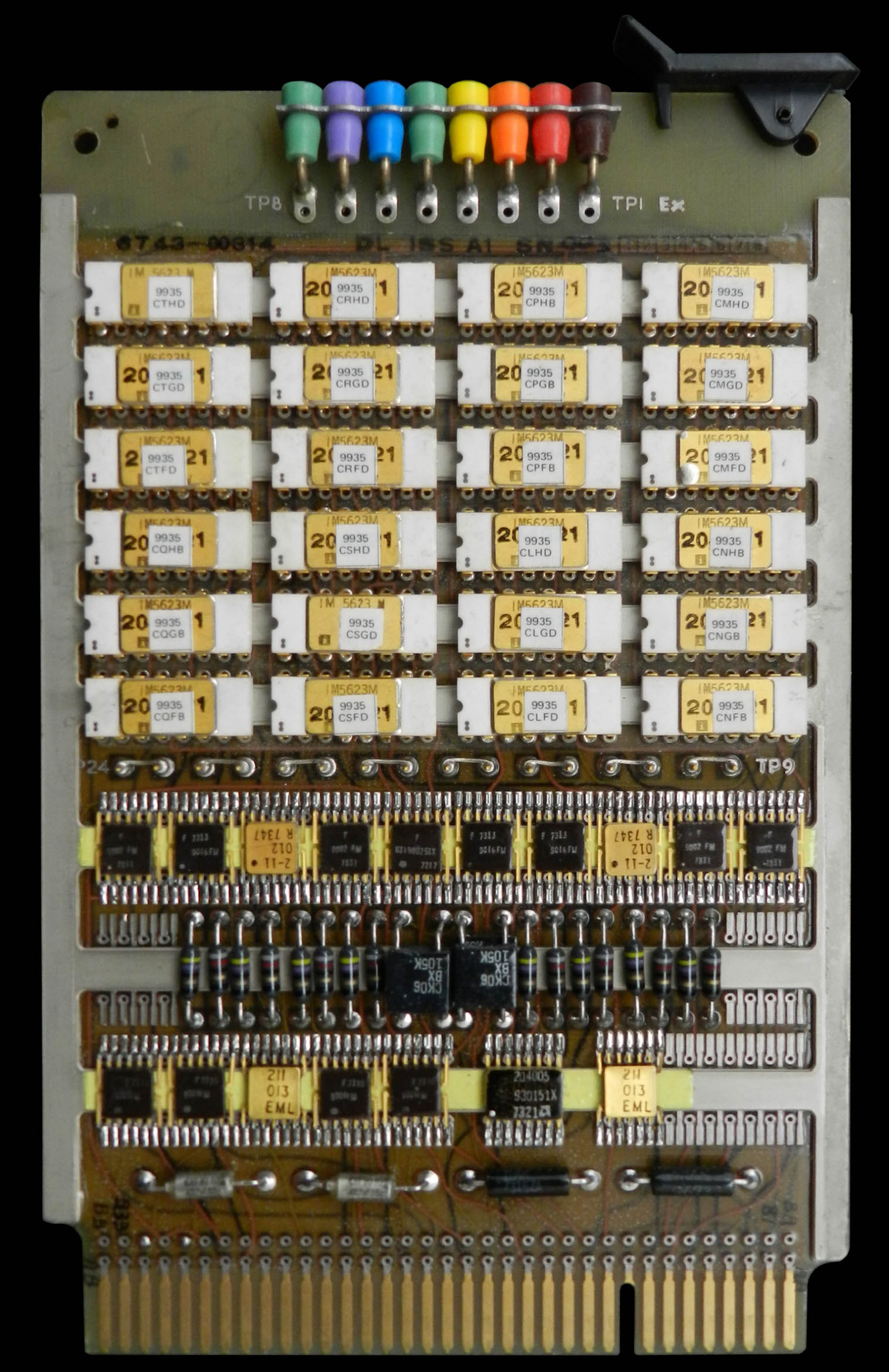 NCS1 Program Store Circuit Board