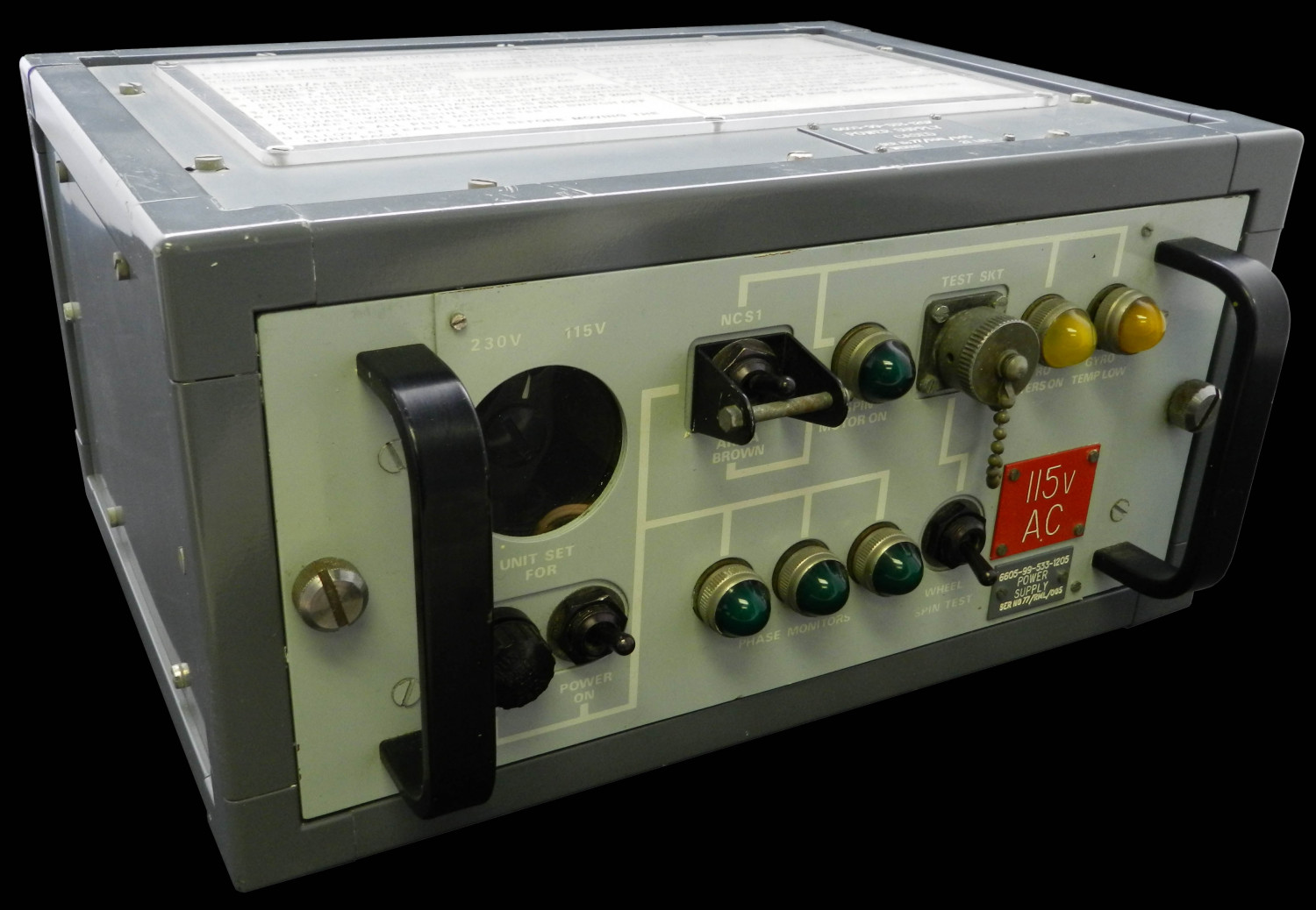 NCS1 Power Supply for Gyro Tests