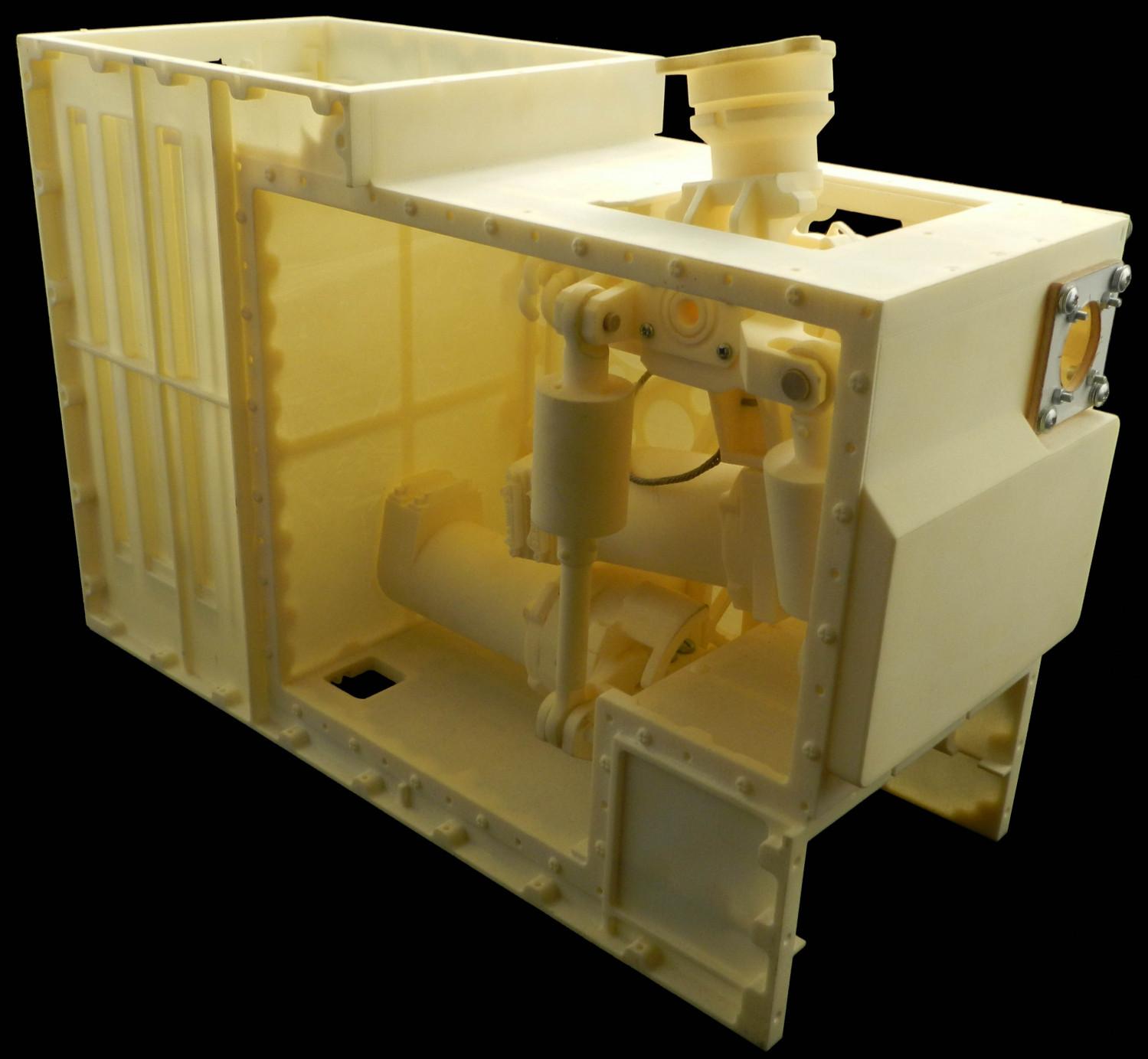 3D-Printed Control Stick Mechanism (model)