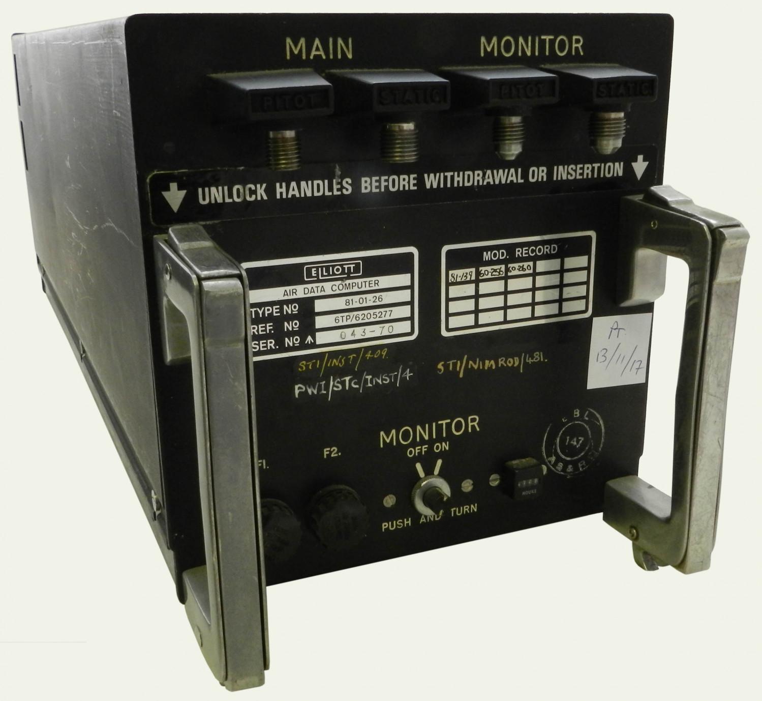 Air Data Computer.