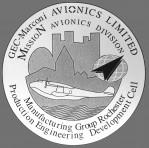 GEC Avionics Rochester Stickers