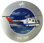 German Aerospace Centre (DLR) BO 105 Peel-Off Stick-On Badges
