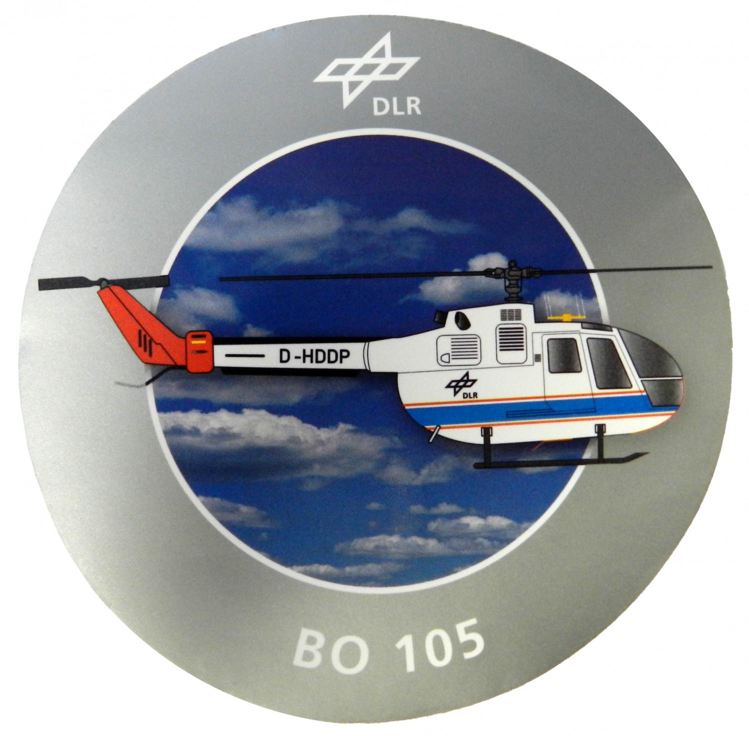 German Aerospace Centre (DLR) BO 105 Peel-Off Stick-On Badges