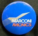 Marconi Avionics Badge