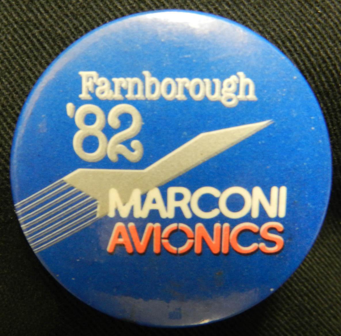 Farnborough '82 Badge