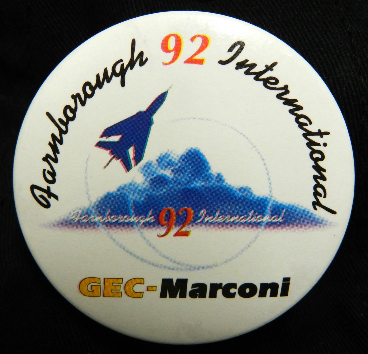 Farnborough International '92 Badge