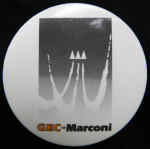 GEC-Marconi Badge