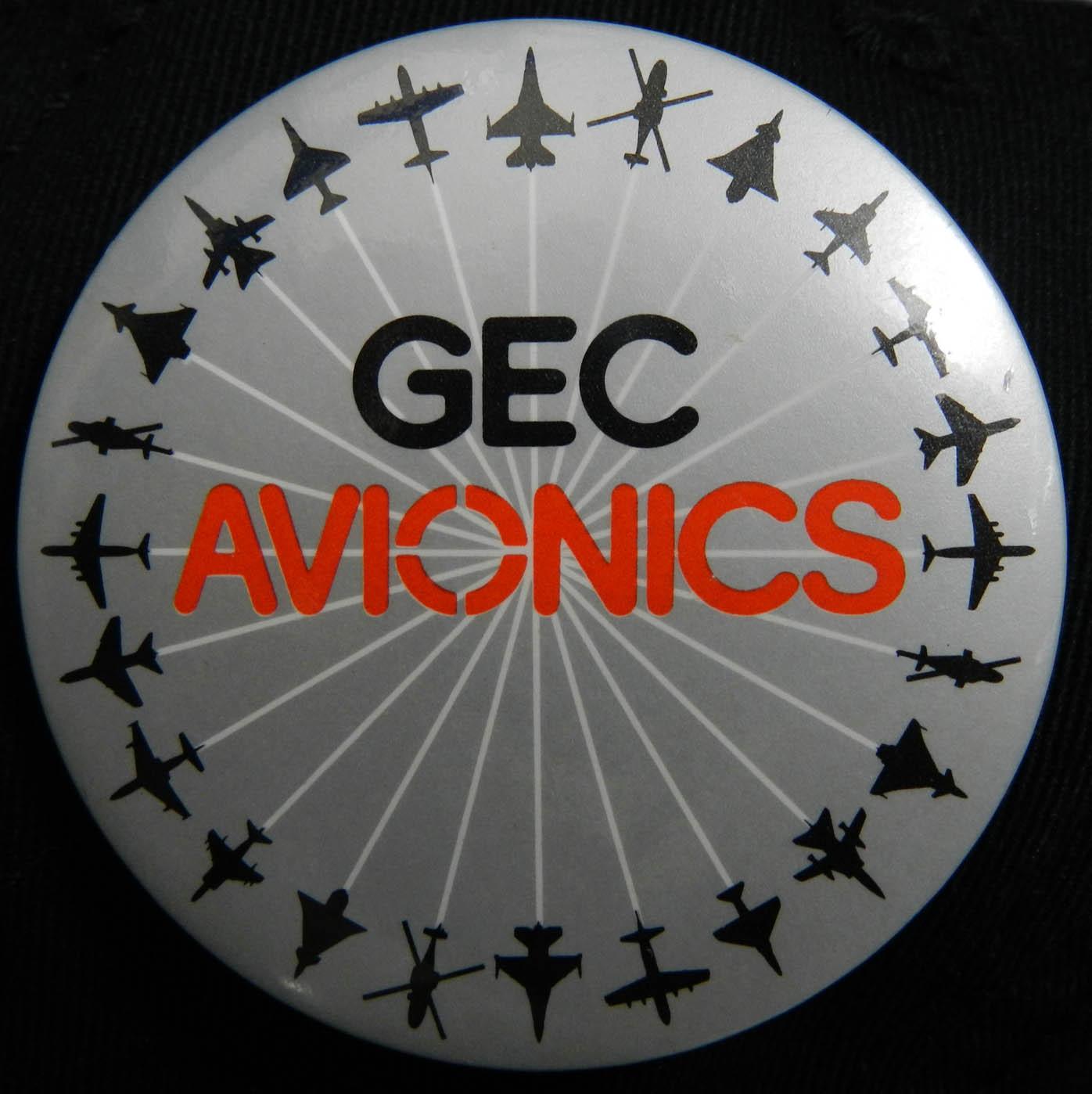 GEC Avionics Badge