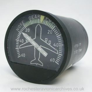C-5A Nose Gear Castering Angle Indicator